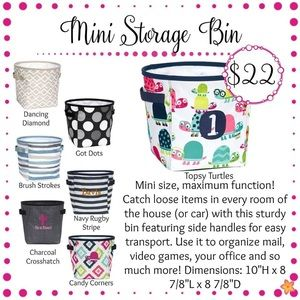 thirty-one Storage & Organization - Thirty-One Mini Storage Bin